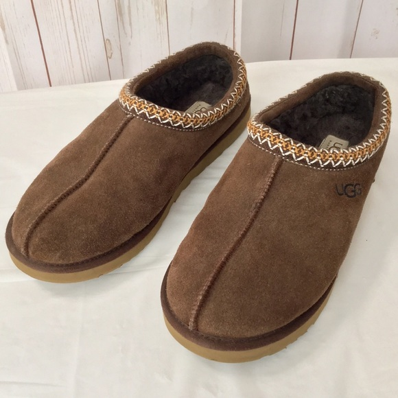 15f757fa614 UGG Tasman 5950 Brown Suede Slippers Loafers
